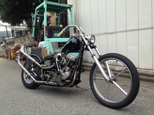 1958 PANHAED CHOPPER SOLD OUT